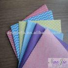 spunlace nonwoven patterned muslin fabric