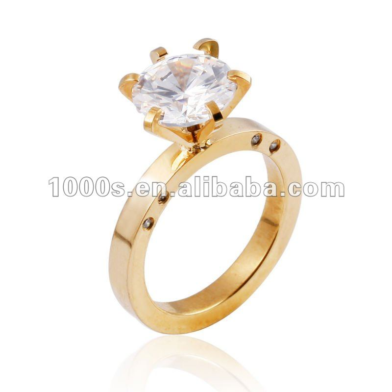 Diamond Ring With Gold Designs Gold Ring Designs Engagement