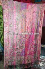 arabic style scarf 2012,fashion 100% cashmere pashmina scarf
