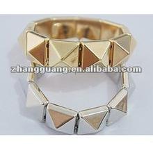 fashion alloy square bracelet jewelry,vintage bangle