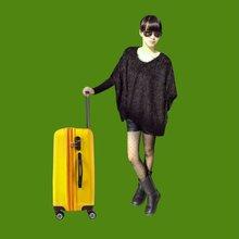 Compass luggage trolley bag