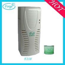 Toilet scent fan air freshener