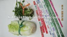 paper farm/vegetable/vine yard twist ties