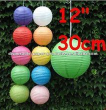 "multi-choice colors&size paper lanterns&sky lanterns wedding size:8"",10"",12"",16"""
