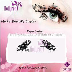 #P08 New Fashion Lady's Paper Eyelashes Glue oem