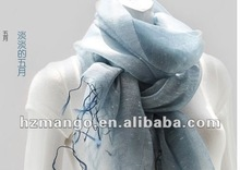 Fashionable beautiful classic high quality scarf decorate with dot