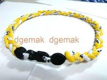 titanium germanium powder football Sport Necklace good for keep body energy balance
