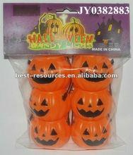 Plastic halloween pumpkin buckets halloween candy bucket halloween pumpkin bucket skull shape bucket machinary wack bucket