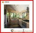 Moderno del acero inoxidable de europa del gabinete de cocina
