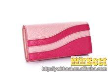 2012 Best brand leather ladies clutch purses & wallets(HQ40-2)