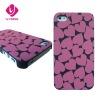 Premium heart design case hard plastic case for iphone 4 4S