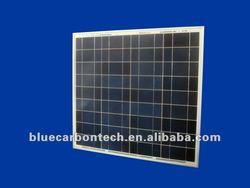 Polycrystalline 12v 75W pv solar panel