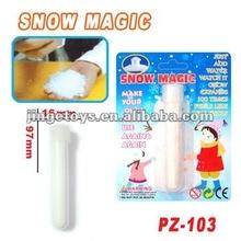 magico istante polvere di neve artificiale per la decorazione di natale
