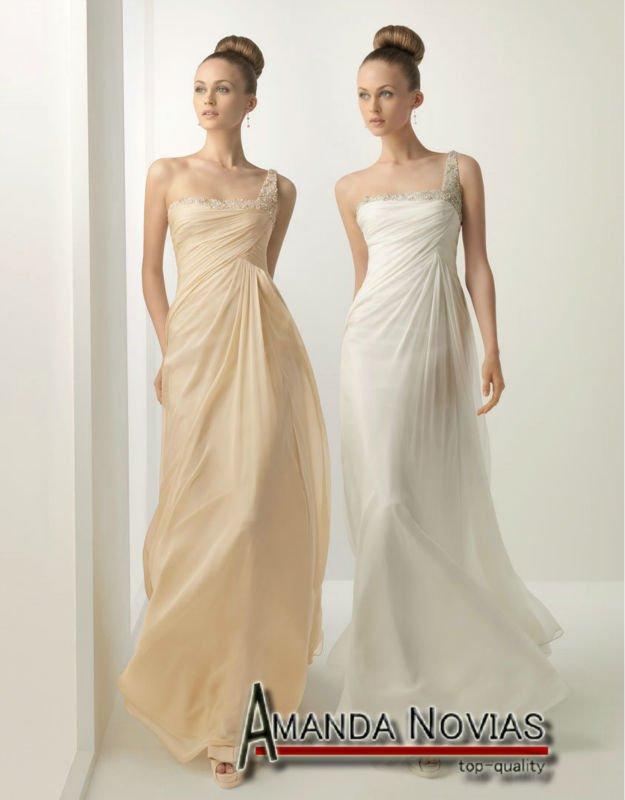 Yellow White Bridesmaid Dresses 50