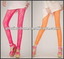 2012 women newest european style lace legging
