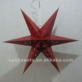 Nova arrivel estrela de papel dobradura