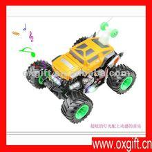 Remote control car charging dynamic remote control car