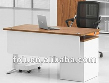 Tea Color Small Office Table, Desktop Desk, Laptop Desk (FOHBL14-A)