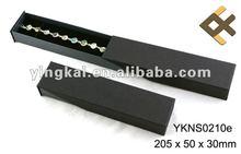 Slide opening bracelets packaging box
