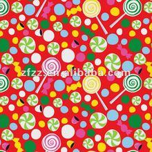 super soft lollipop print coral fleece fabric