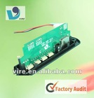 usb sd mp3 pcb design and layout