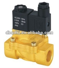 3/8'' Brass Pilot Operated Solenoid Valves 2/2 Way 13mm Orifice 2V130-10