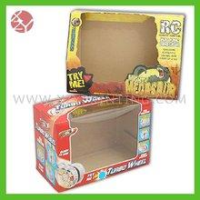 Printed pvc window paper box
