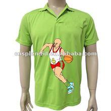 2012 High quality summer outdoor basketball simple design men polo, high quality men polo