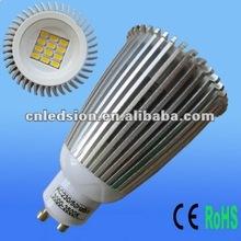 2012 New SMD 8W White LED Downlight GU10