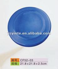 DARK COLOR PLASTIC PET FRISBEE