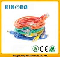 UTP ethernet cat5e jumper cable patch cable