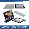 Wake-up / Sleep protective PU leather smart cover case for ipad 2 & ipad 3