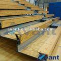 clásico de madera automática de asientos telescópico retráctil de asientos movibles retráctil del asiento