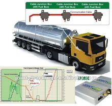 GPS Fuel consumption solution with fuel level sensor