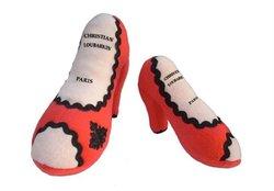 Christian Loubarkin Louboutin Inspired Shoe Toy