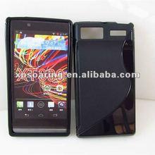 S line TPU case skin cover for Motorola Razr V XT889