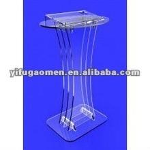 Acrylic Plexiglass Podium Pulpit - SHIP UNASSEMBLED