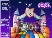 2012 Qi Ling commercial cat and mouse inflatable bouncy castle