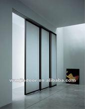 hot sale aluminum frosted glass door