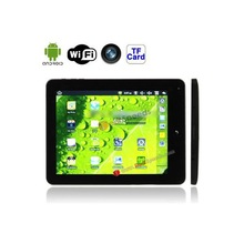 2012 Hot Selling China Price Android 2.2 Tablet PC aPad Style 8 inch Tablet PC with WIFI, 0.3 Mega Pixels Front Camera