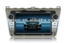 """Hot sale 8"""" HD digital touch screen Car stereo dvd for Mazda 6"""