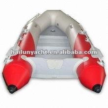 inflatable pontoon 4-5 passenger sport fishing boat sale (HLP300)