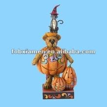 Handmade novelty resin decorative pumpkin