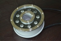 high quality IP68 full color 9W 12V LED underwater fountain light