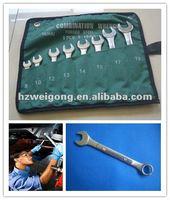 Raised Panel Wrench Polishing Tool Kit Set