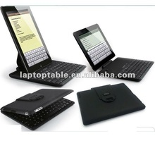 Newest keyboard bluetooth case for ipad with 360 degree rotating cover