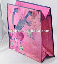 china recycled pp woven tote shopping bag suppliers