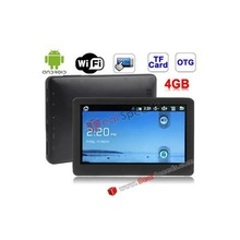 Q10 Black, 5.0 inch Android 2.3 Style MP5 Player Touch Screen with WIFI, 4GB NAND Flash, Chip: JZ4760B, Support USB OTG Function