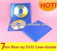 7mm double cd dvd bluray case