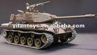 3839 US M41A3 Bulldog Radio Controlled 1/16th Scale Airsoft R/C Battle Tank Upgraded Metal Version Featuring w/ Smoke, Sound, Li